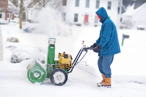 snowblower green