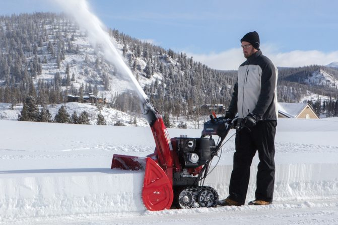Snowblower Action