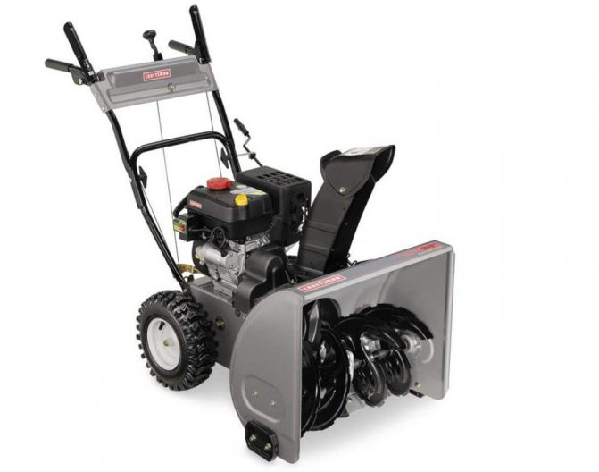 Snow Thrower Transmissions : Four best buys in dual stage snowblowers snowblower