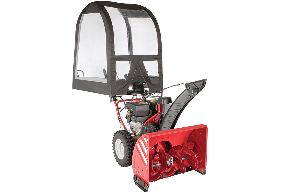 Arnold Deluxe Snow Thrower Cab: Cyber Monday Snowblower Deals