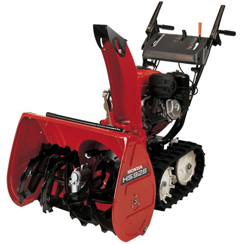 Honda�s use of involute driven tracks adds traction and extra capabilities for homeowners.